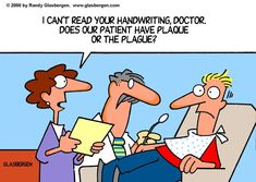 Having a hard time reading your dentist's handwriting?