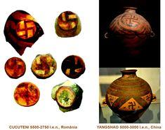 Influenţele civilizaţiei CUCUTENI: YANGSHAO, China (5000-3000 î.e.n.) China, Ceramics, Ceramica, Pottery, Ceramic Art, Porcelain, Ceramic Pottery