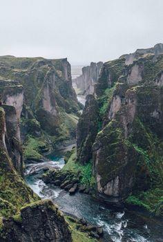 Fjaðrárgljúfur South Iceland