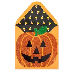 Glitter Jack-O-Lantern Pumpkin Price $5.95 @ Papyrus
