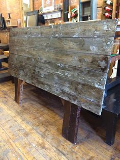 Rustic Headboards rustic, reclaimed wood barn board headboard | headboards