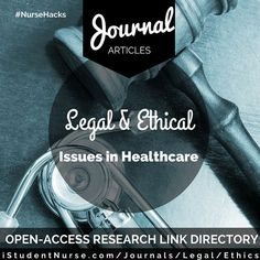 ethical issues in nursing articles