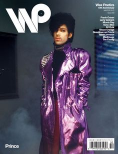 Prince on the cover of Wax Poetics Magazine