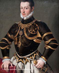 GATTI_Gervasio_Portrait_of_a_Man_in_Armor_1590s_Blanton_Museum_of_Art_source_sandstead_1.jpg (815×1000)