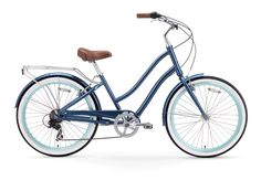 EVRYjourney Women's 26-Inch 7-Speed - Step-Through Touring Hybrid Bicycle