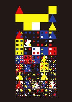 generative art, geometric art, creative coding, processing, java, generative programming, programming, math based art, math, geometrics, geometric, art, abstract, abstract art - Copyright Samuli Nivala - http://codetoform.tumblr.com / http://samulinivala.com