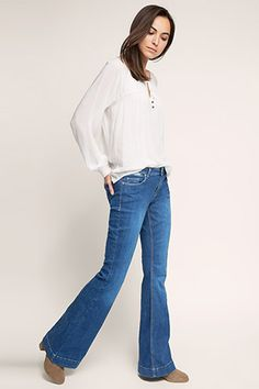 Esprit / Stretch jeans in innovative denim