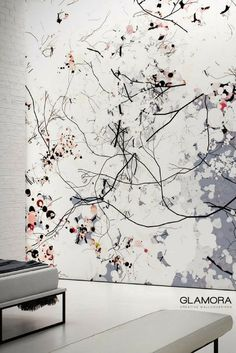 Clouds | Natural Wallcovering & Carta da Parati | Digiscape collection by Glamora Japanese Bedroom, Woven Dining Chairs, Japanese Tree, Wall Murals, Wall Art, Inspirational Wallpapers, Japanese Design, Wall Colors, Interior Inspiration