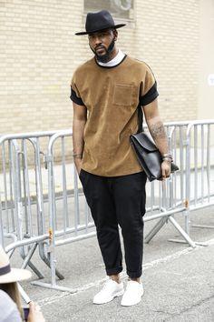 Galeria de Fotos Street style da semana de moda masculina de Nova York Verão 2016 // Foto 31 // Notícias // FFW