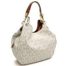 248deb8c0182 Bighit The total brand wholesale  Michael Kors (MICHAEL KORS) tote bag  VANILLA white series - Purchase now to accumulate reedemable points!