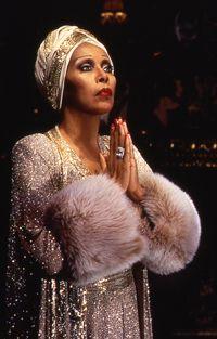 """Diahann Carroll as Norma Desmond in """"Sunset Boulevard."""""""
