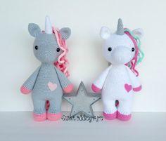 crochet unicorn unicorn crochet pattern unicorn by SweetOddityArt