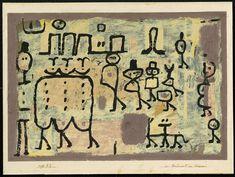 Der Boulevard der Abnormen 1938 Paul Klee