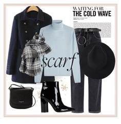 """""""Scarf Season"""" by nazgul-jumagulova ❤ liked on Polyvore featuring Lancaster, IRIS VON ARNIM, Sigerson Morrison and Wilsons Leather"""