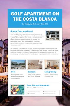 Golf Apartment on the Costa Blanca