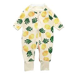 Baby Rompers LOVELYIVA Newborn Baby Boys Girls Long Sleeve Floral Print Zipper Romper Jumpsuit Bodysuit Outfits Clothes Label Size736M *** Visit the image link more details. Note:It is affiliate link to Amazon.