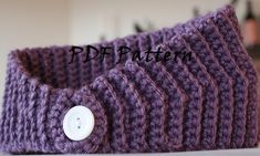 Crochet Winter Headband