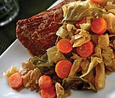 Find the recipe for Irish Channel Corned Beef and Cabbage and other beef recipes at Epicurious.com