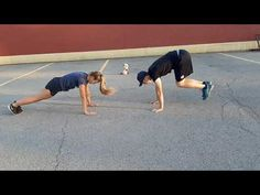 Pushups Two Active Versions: #phed #physicaleducation #physical education #homeschool #fitness Mountain Climbers, Jumping Jacks, Physical Education, Push Up, Homeschool, Exercise, Running, Fitness, Ejercicio