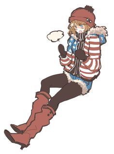 fem!America America as a girl is just the cutest thing ever. What type of relationship would she have with fem!Britain, though...?