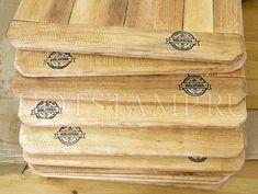 Branding Iron, Bamboo Cutting Board