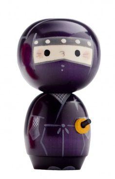 Kokeshi Ninja Doll