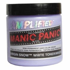 Manic Panic Hair Dye, this stuff is a great toner