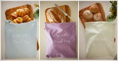 4MyEarth® Bread Bag Bread Bags, Happy Earth, Make Your Own, How To Make, Food Grade, Plastic Bags, Environment, Strong, Fresh