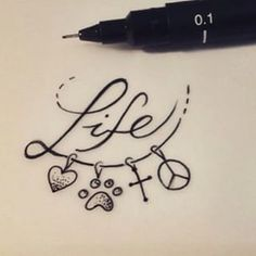 tatuagem paz amor e fé - Pesquisa Google