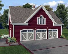 Carriage house...would be awesome detached garage, could live in while house was built