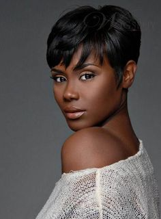 Short Wrap Hairstyles For Black Women Haute Hairstylz Pinterest