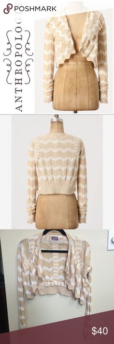 ✨Anthropologie Rosie Neira Cardigan Sweater XS✨ Rosie Neira Cardigan sweater in a chevron striped print from Anthropologie. Size XS. Long-sleeved. 100% cotton. Used item: This item is used, but it is in great condition. Photos show details of style, wear, & any flaws. Bundle up! Offers are always welcome. Anthropologie Sweaters Cardigans