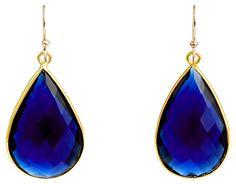 One Kings Lane - Colorful Updates -  Cobalt Blue Tinge Teardrops