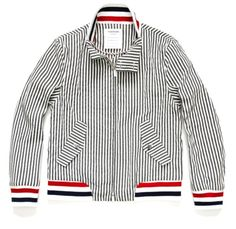 Thom Browne barracuda jacket.