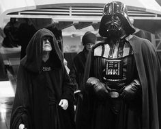 Darth Vader and Emperor Palpatine in Return of the Jedi 1983