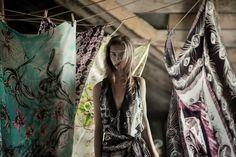 100% silk scarves design: Kätlin Kaljuvee