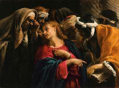 Jesus Amongst the Doctors by Orazio Borgianni , 1610