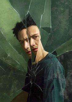 The Matrix (Lana & Lilly Wachowski, - Keanu Reeves Movie Poster Art, Film Posters, Keanu Matrix, Keanu Reeves Matrix, Science Fiction, The Matrix Movie, Man In Black, Keanu Charles Reeves, Movie Posters