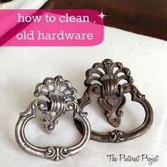 how to clean old hardware