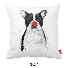 Panda vs Bulldog Pillowcase Variety