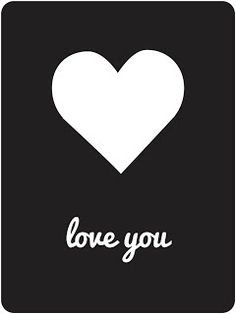 Free Cut File-Project Life Love You card