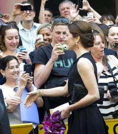 Crown Princess Mary in Sydney, Australia - October 2013
