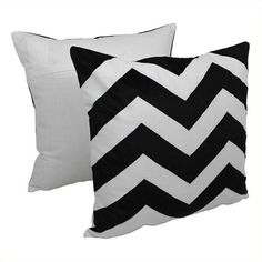 Blazing Needles Indian Chevron Throw Pillow ($68) ❤ liked on Polyvore featuring home, home decor, throw pillows, black, chevron home decor, black home decor, chevron throw pillows, indian home decor and india home decor