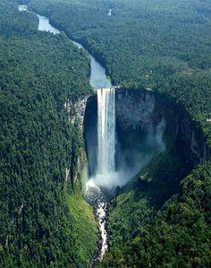 {<3} Kaieteur Falls in Guyana South America