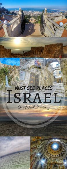 Everything must see in Israel, including The Dead Sea, Ein Gedi, Masada, Haifa, Jerusalem, and so much more! This area of the Middle East is so incredible and there is so much to do. This guide also includes tips on where to stay. Check out the post: https://togethertowherever.com/what-to-see-in-israel/