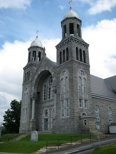 St. Mary Star of the Sea, Newport, Vermont by steverohde, via Flickr