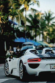 The Porsche 918 Spyder is a Hybrid supercar with a limited production of 918 units that ended in The car is available as a coupe and as roadster. Luxury Sports Cars, Porsche 918 Spyder, Porsche Cars, Maserati, Ferrari, Bugatti, Sexy Cars, Hot Cars, Aston Martin