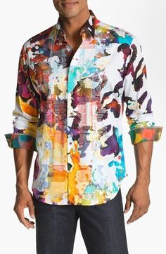 Robert Graham 'Gerard' Regular Fit...     $298.00