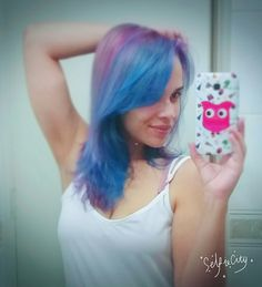 Unicorn hair. Mermaid hair.