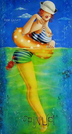 Colette Falardeau, artiste peintre.